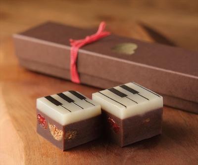 湯布院 ジャズとようかんの「ジャズ羊羹 chocolat」(2160円)
