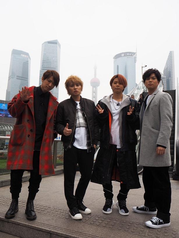 NEWSが中国・上海に上陸した!