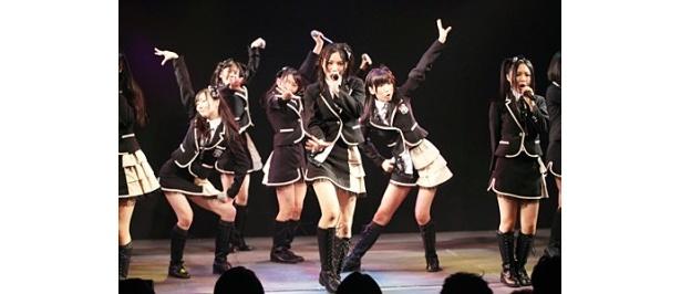 【写真】松井珠理奈は「東京で劇場公演ができるのがとてもうれしいです。朝からテンションが上がってます」と語った