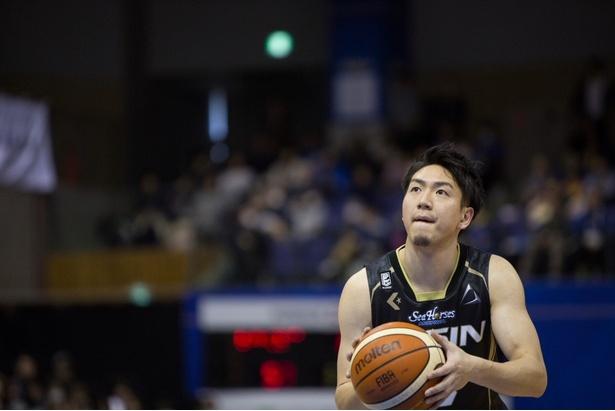 【写真を見る】日本代表のエースとしても活躍する比江島選手