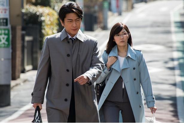 渡辺麻友演じる水島瑠璃子は、生命保険会社調査部に所属