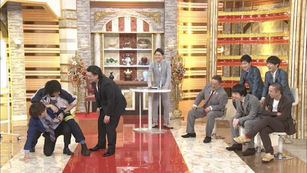 【写真を見る】斎藤とMC陣がアドリブ芝居に挑戦!