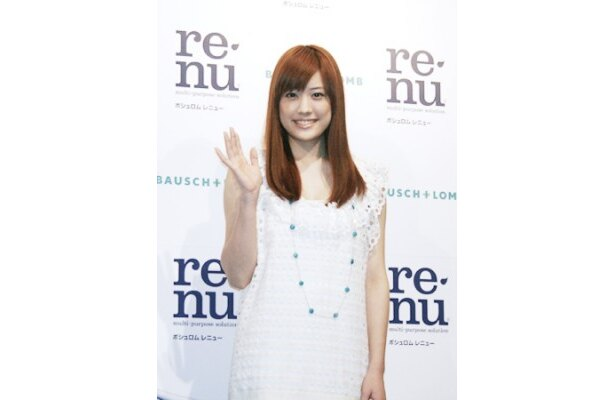 「レニュー」の新商品発表会に出席した福田沙紀