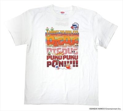 ディグダグ フルカラーTシャツ