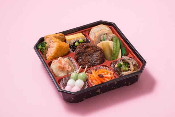 お花見やパーティーにぴったりな「季節のお惣菜詰め合わせ」(1080円)