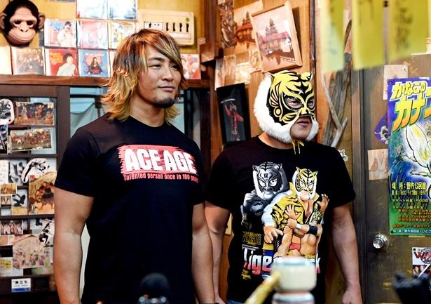 棚橋弘至選手、タイガーマスク選手が「99.9―」に出演