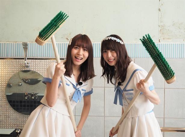 SKE48が銭湯をお手伝い! 「SKE48がひとっ風呂浴びさせて頂きます!」は3月21日(水)よりテレビ東京で放送