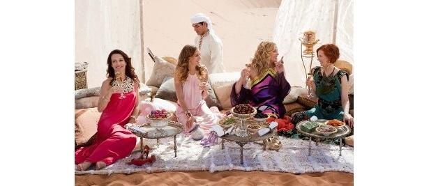 キャリーたちがやって来たのは、アラブ首長国連邦の首長国の首都アブダビ
