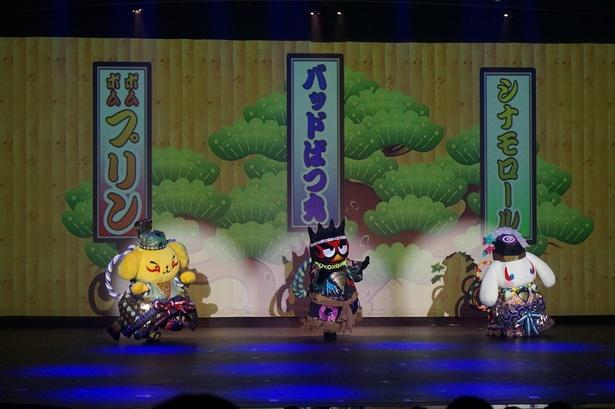 サンリオ×歌舞伎「KAWAII KABUKI ~ハローキティ一座の桃太郎~」で新たな日本を発見!