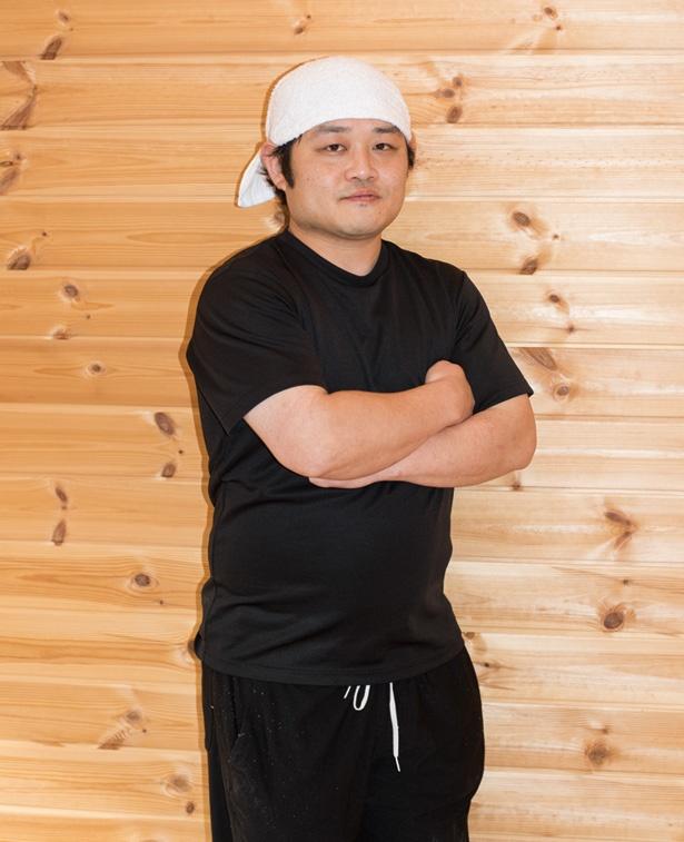 念願かなって専門店をオープンした「らーめん もうもう亭」店主の齊藤一裕さん