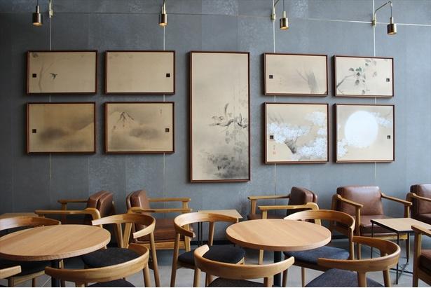 大正の終わりから昭和初期に制作された襖絵をアートとして活用