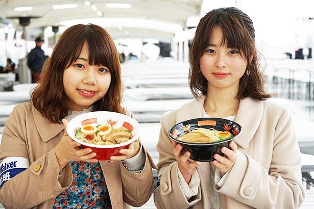女子大生が有名ラーメン5店をオール実食レポ!ナガシマで巨大グルメフェス開催中