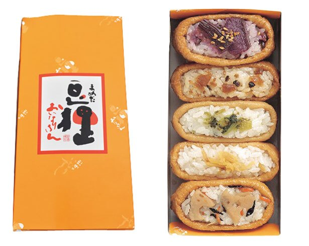 「京都土産いなり詰合せ」(648円)/豆狸