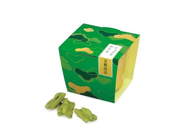 「ショコラからり 京都抹茶」(70g586円)/あおざしからり