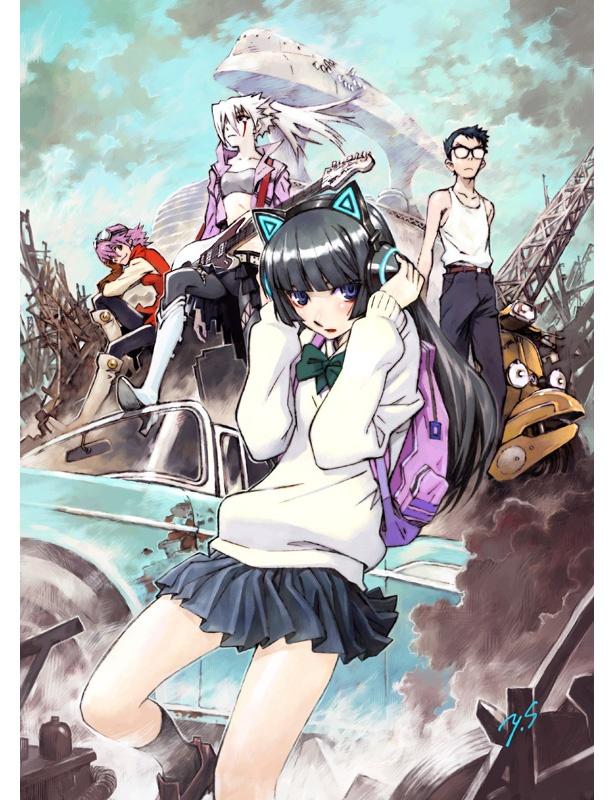 傑作OVA作品「フリクリ」の続編が新作劇場アニメに!貞本義行描き下ろしビジュアルも解禁に!
