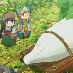 「ハクメイとミコチ」第10話の先行カットが到着。温泉を訪れた2人が目にしたものは…
