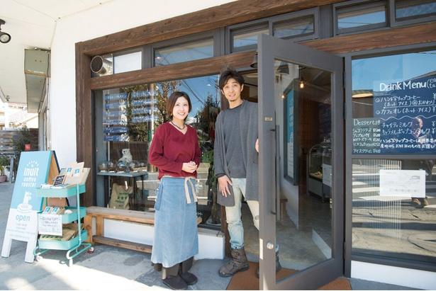 オーナーの乾さんご夫婦。奥さまは乾さんの前職の同僚でもあり、現在はよき理解者としてお店を手伝う