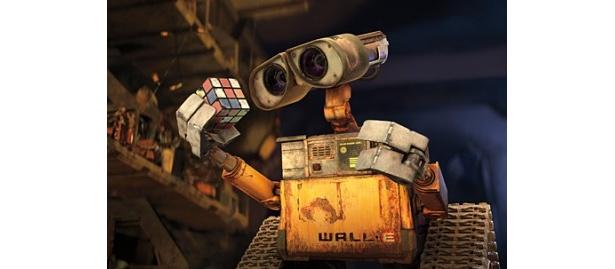 【画像】「ウォーリー」は29世紀の地球を舞台に、ゴミ処理ロボット・ウォーリーの冒険を描く感動作