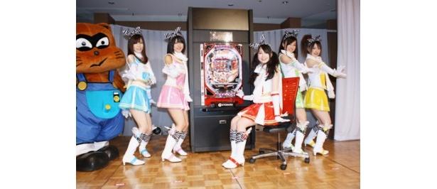 京楽産業のパチンコの楽しさを広めるためのマスコットガールに任命されたSKE48のメンバー5人