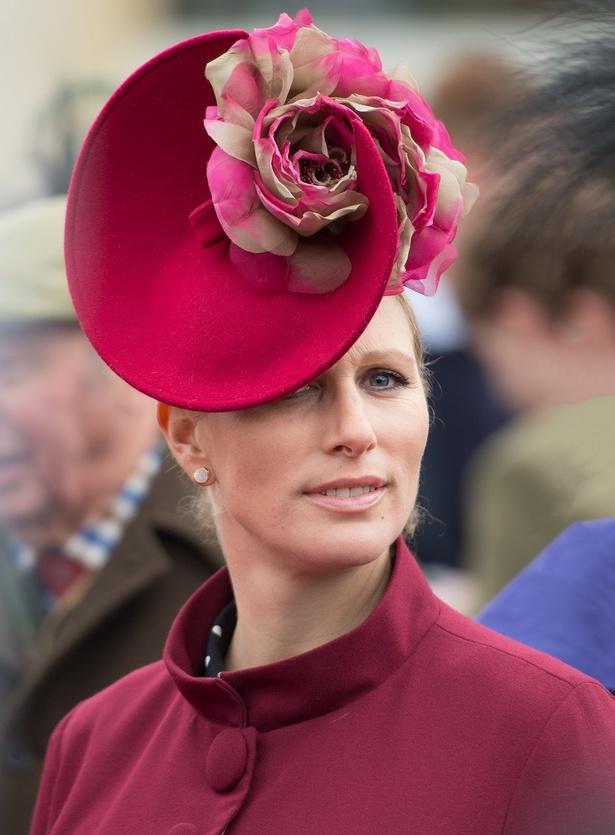 アン王女の長女、ザラ・ティンダル