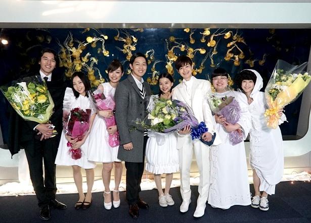 クランクアップを迎えた「海月姫」最終回は3月19日(月)に放送