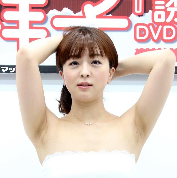 DVD「誘う女」発売記念イベントを開催した祥子