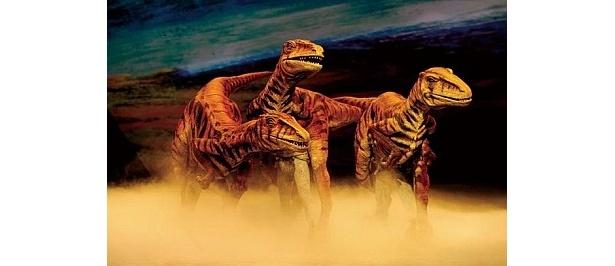 ハンター恐竜・ユタラプトルは、自分より大きな恐竜を狙って狩り!