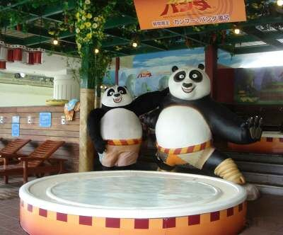 同日スタートで、9月30日(火)まで実施する「カンフー・パンダ風呂」も登場!