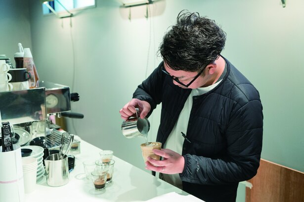 「MODOO'S COFFEE BREWERS」オーストラリアでキャリアを積んだ廣瀬さん