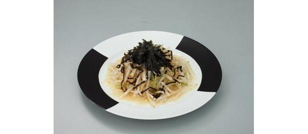 【写真】「Z2サラダ」は大根と葱のチョレギサラダ