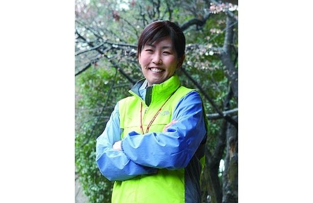 伊藤めぐみさんは、NPO法人国際自然学校の職員。日本バーベキュー協会の上級インストラクター資格を女性でただ一人取得している
