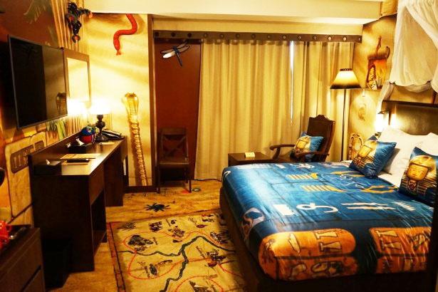 「アドベンチャー」のスイートルーム(寝室)/レゴランド・ジャパン・ホテル