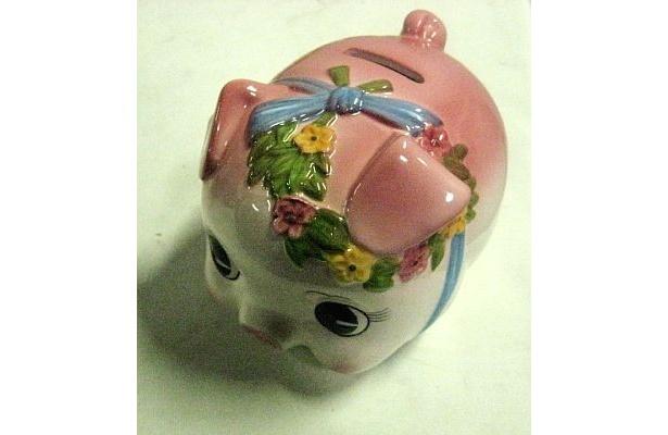 「ストロベリーの貯金箱」