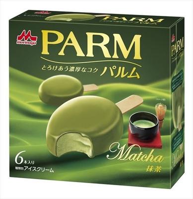 【写真を見る】同じく森永乳業より、3月19日に発売された「PARM(パルム) 抹茶(6本入り)」(税抜420円)