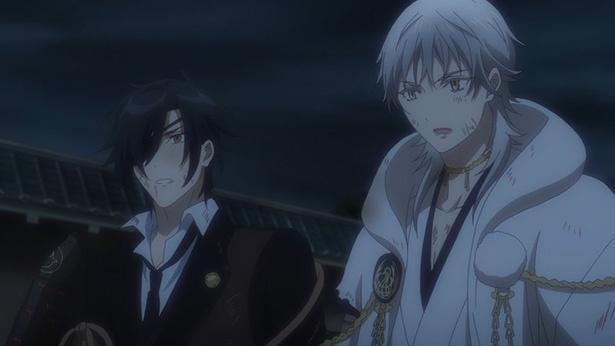 「続『刀剣乱舞-花丸-』」第12話の先行カットが到着。江戸に出陣している刀剣男士たちの危機!?