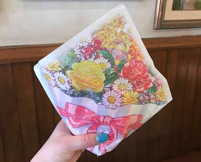 「スペシャルセット」の包材はまるで花束!