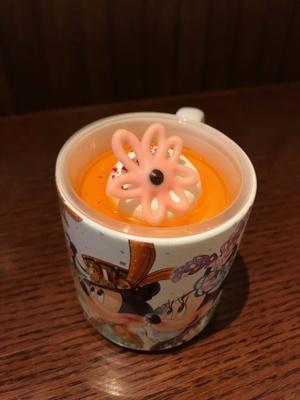 スーベニアカップ付きの「レモンムース」(750円)