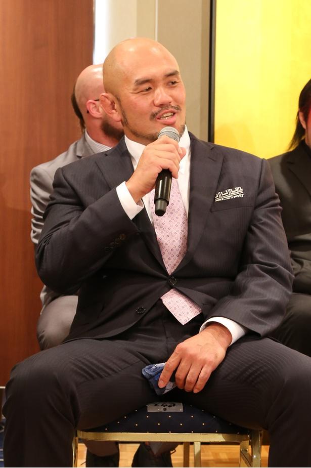 秋山「同じブロックに諏訪魔やゼウスなど強い選手がいますけど、丸藤には絶対負けられないと思っています」