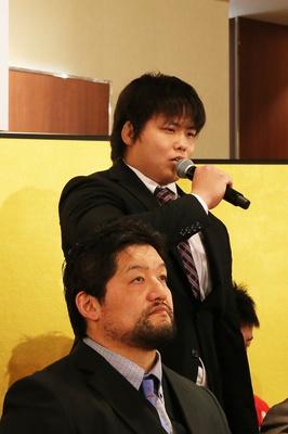 野村「過去2回の出場はいずれも結果がでなかった。今年は結果にこだわって出るからには優勝を目指して全力を出したい」