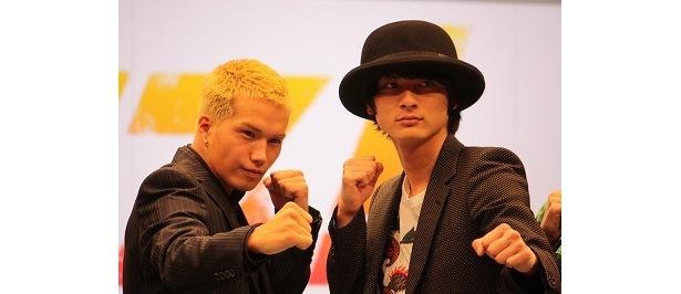 市原隼人&高良健吾という今最も勢いがあるふたりがボクサー役にトライ