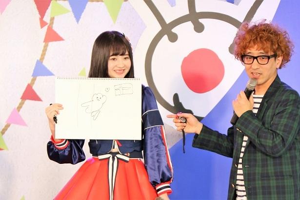 第1問 1人目・江籠裕奈(左)