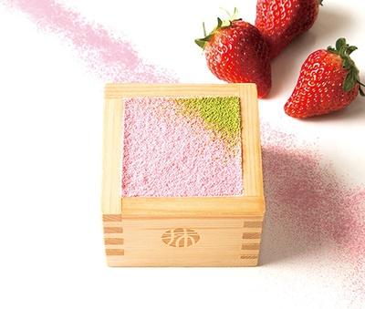 「苺のティラミス」(648円)/MACCHA HOUSE 抹茶館