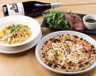 横浜でナポリピッツァと本場の味を再現した南イタリア料理を満喫