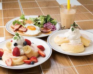 優しい風味を残しつつ溶ける!新感覚のフワフワスフレパンケーキが神奈川に進出