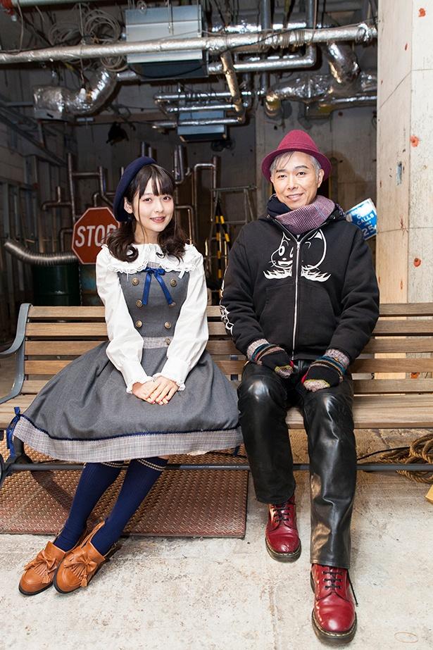 特別編に出演する上坂すみれと大槻ケンヂ