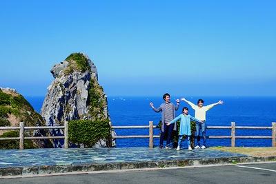 壱岐を代表する絶景の名所「猿岩」