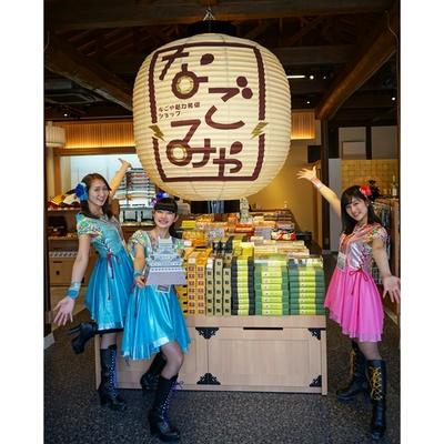 「おみやげ なごみや」では、名古屋城のペーパークラフトを発見!