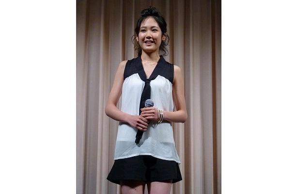 【写真】ヒロインを演じた吉永淳は初の舞台に緊張