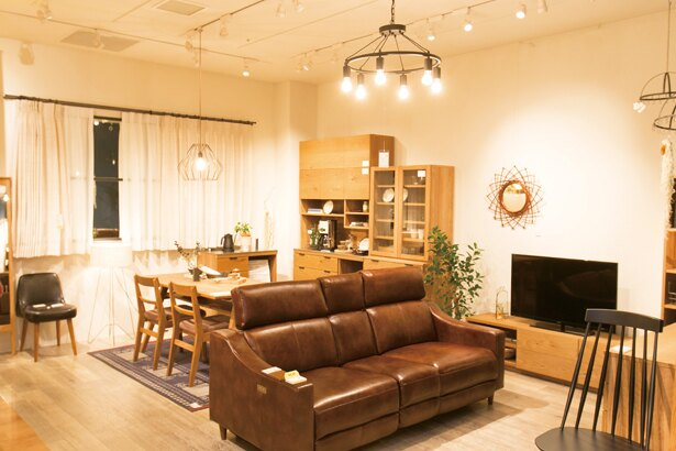 心地よい暮らしに寄り添う家具や雑貨。ディスプレイもヒントになる