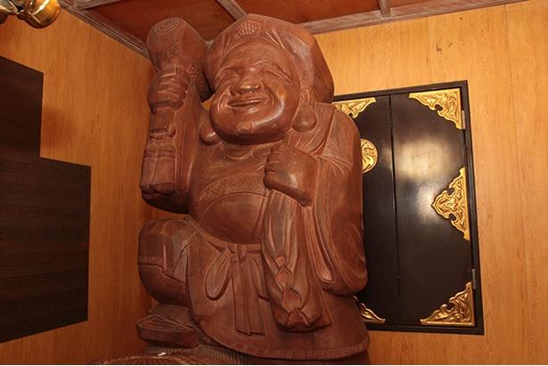 木彫りの大黒天